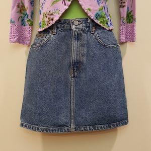 Vintage Classic Jean Skirt